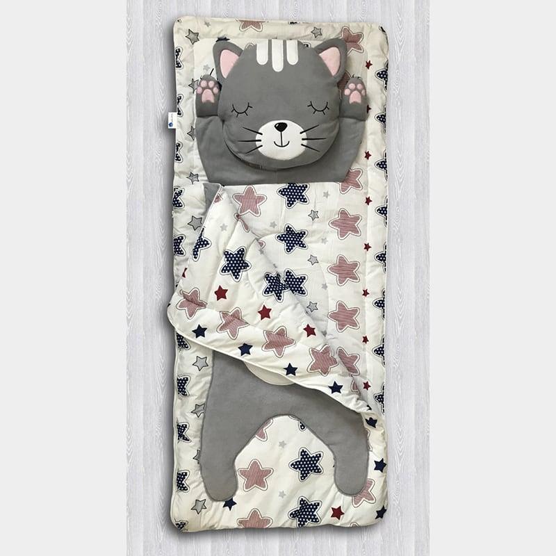 Детский спальный мешок Котейка