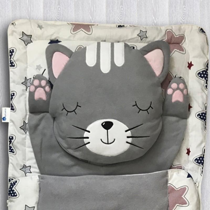Дитячий спальний мішок Котейко