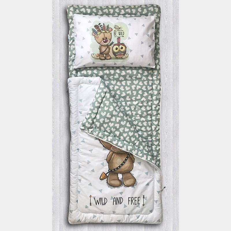 Детский спальный мешок Большой Медведь
