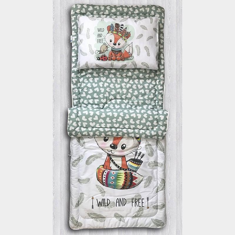 Детский спальный мешок Хитрый Лис