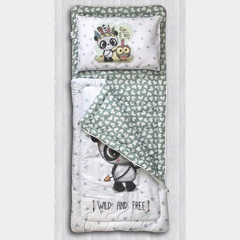 Детский спальный мешок Панда Воин