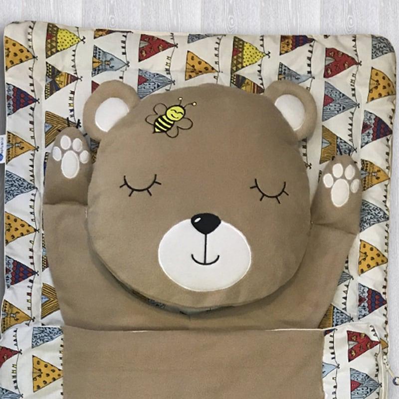 Дитячий спальний мішок Bear & Bee