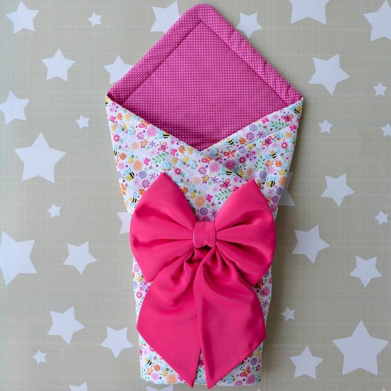 Конверт для новонародженої дівчинки Мальвіна