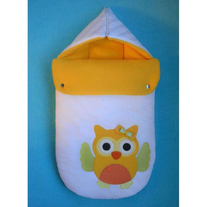 Конверт для новорожденных в коляску Совенок