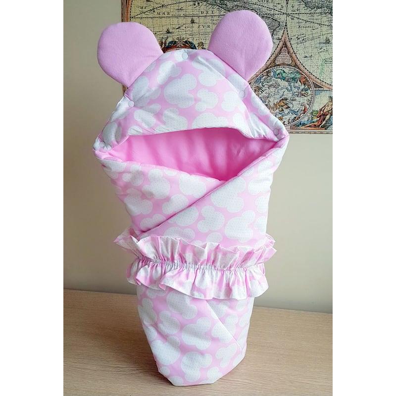 Конверт для девочки Розовый Микки Маус