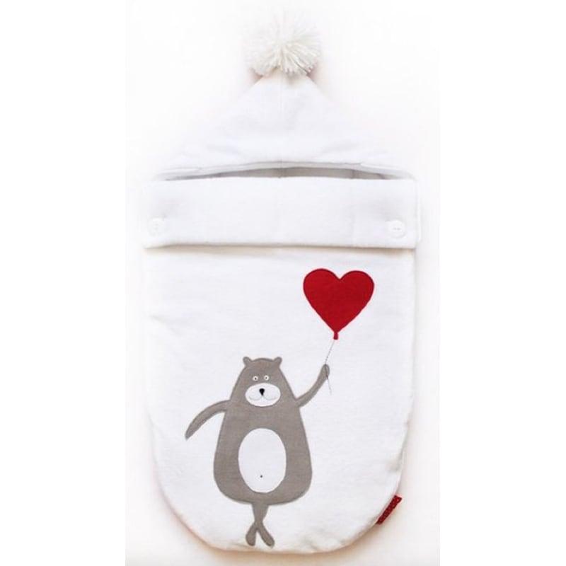 Конверт для новорожденных Мишка с Шариком