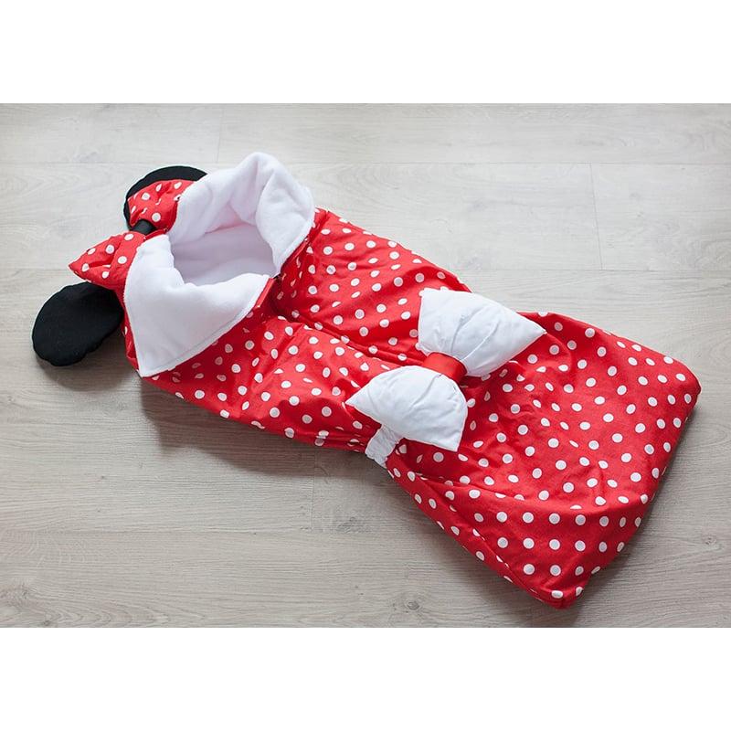 Конверт для девочки на выписку Малышка Минни Маус