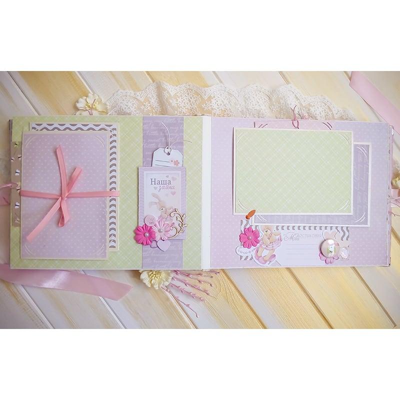 Фотоальбом для новорожденной девочки Нежность