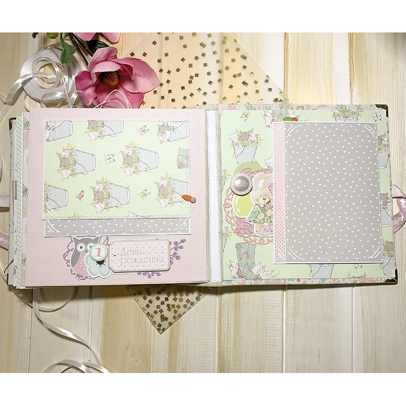 Фотоальбом для новорожденных Маленькая Фея