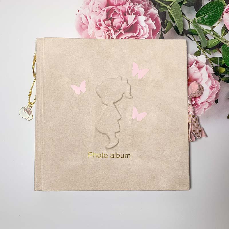 Скрапбукинг альбом для новорожденных Маленькая Фея