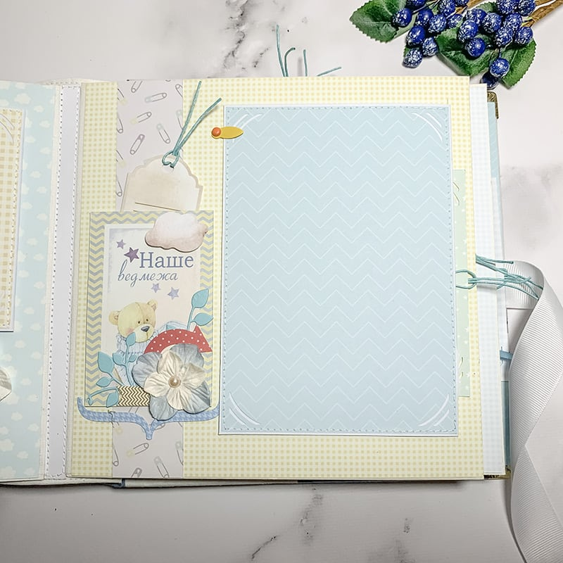 Скрапбукинг альбом для мальчика Little Prince