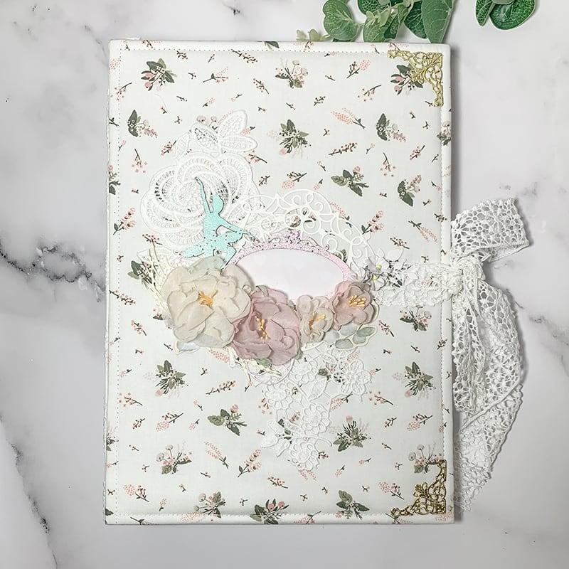 Скрапбукинг альбом для девочки Ballet