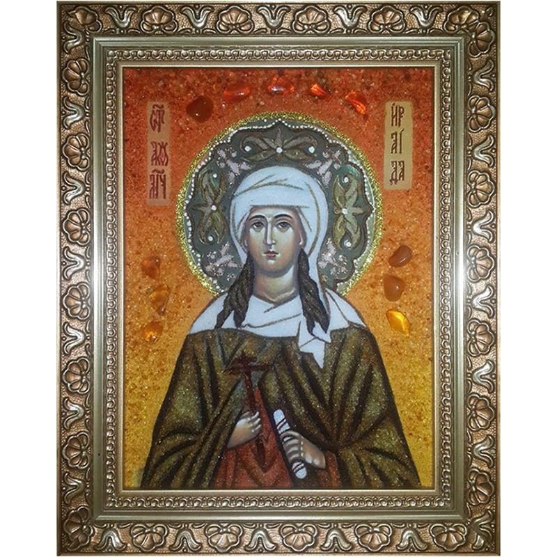 Икона из янтаря Св. Великомученица Ираида (Раиса) Александрийская