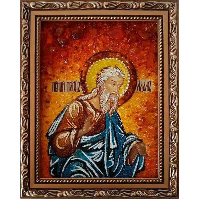 Икона в янтаре Праведный Праотец Абрам