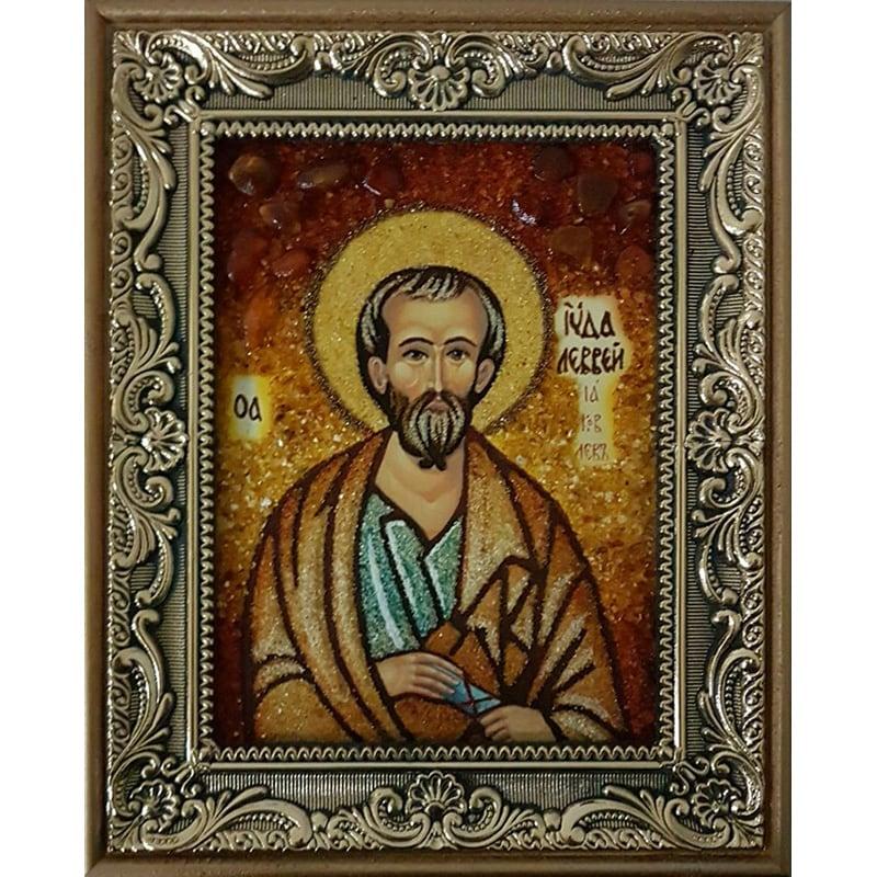 Іменна ікона з янтаря Св. Юда Левій