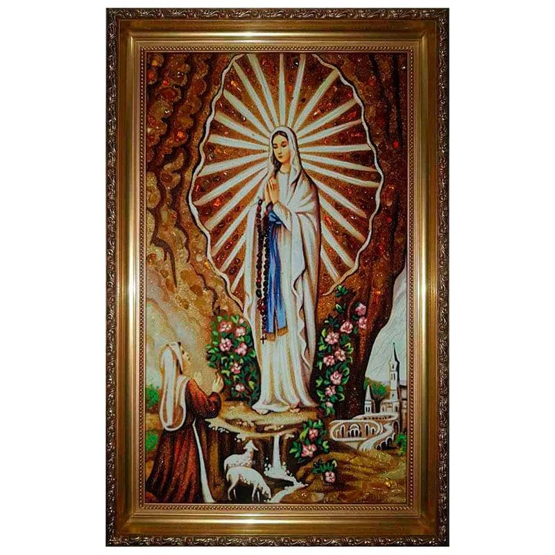 Ікона Бурштин явище Богородиці