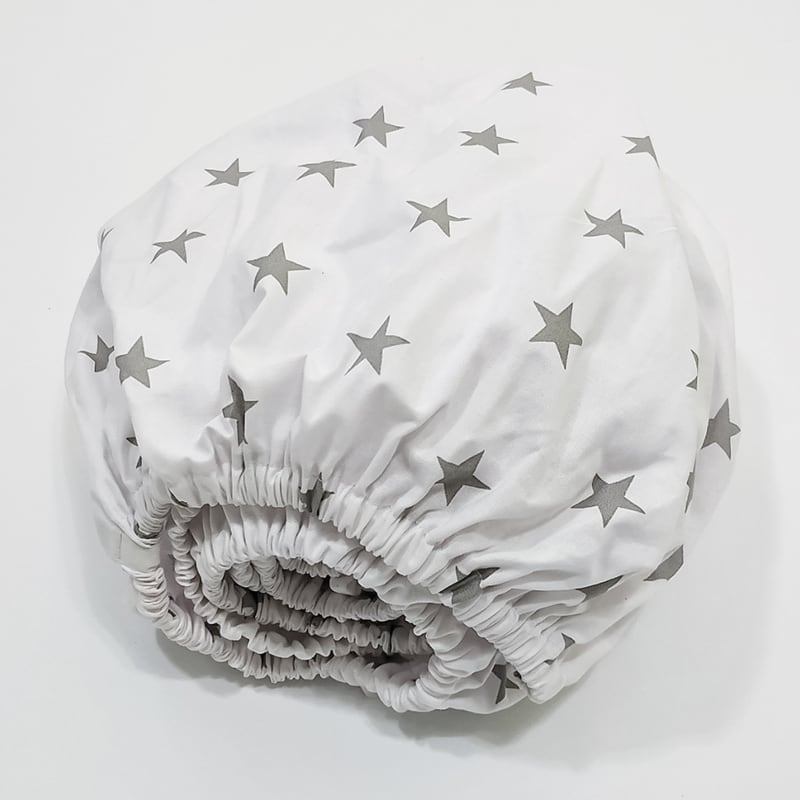 Детская простынь в кроватку на резинке Pearl Starlet
