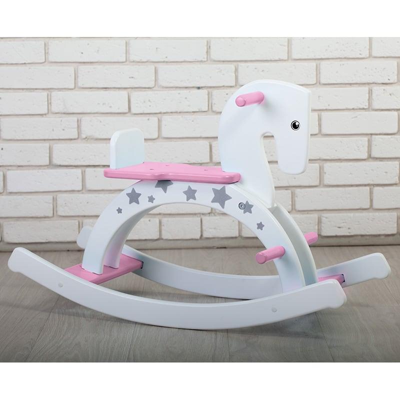Конячка - гойдалка для дівчинки Рожевий Поні