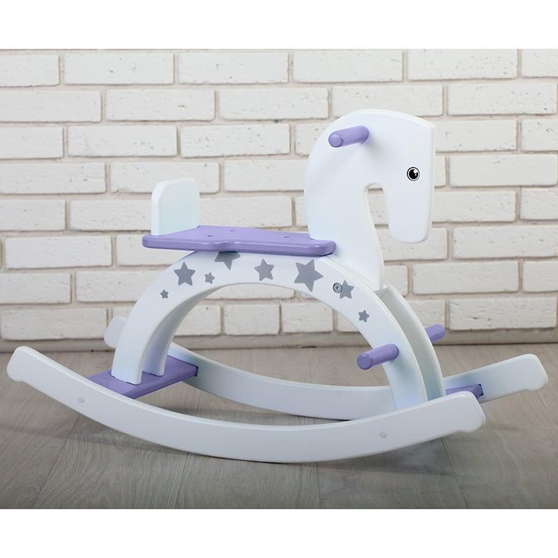 Дитяча іграшка гойдалка Пурпурний Поні