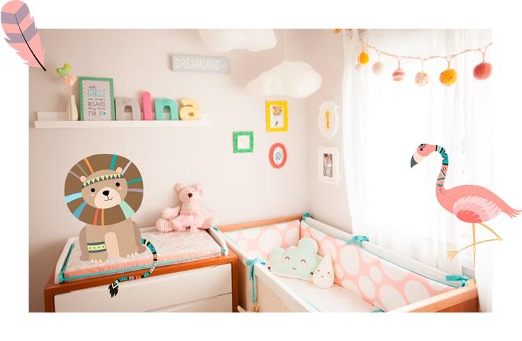Бортики в ліжечко для новонароджених
